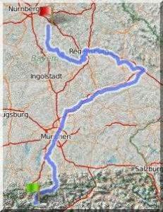 Isar-Donau-Tour - Zusammenfassung