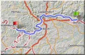 Isar-Donau-Tour - Wörth-Essing