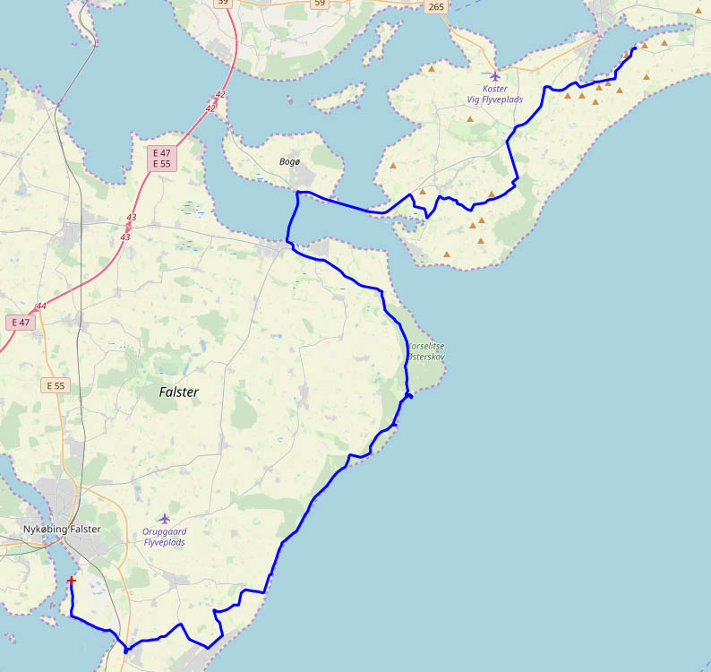 Dänemark-Tour - Hasselø Plantage-Svensmarke