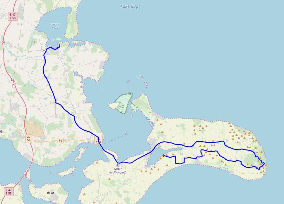 Dänemark-Tour - Svensmarke-Præstø