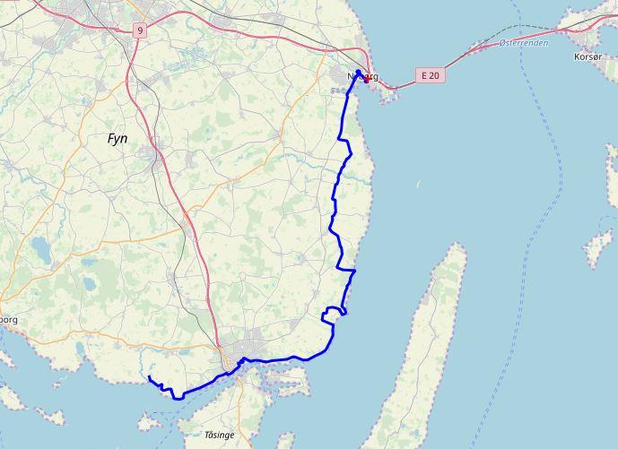 Dänemark-Tour - Nyborg-Skerninge