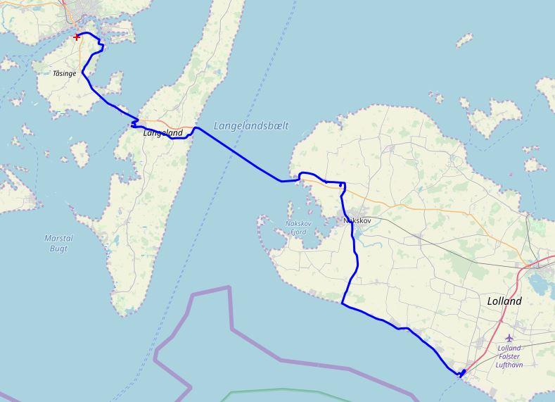 Dänemark-Tour - Svendborg-Puttgarden